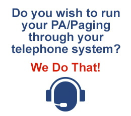 PA over IP Voice paging