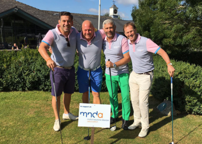 Midland Comms Stu Mico sponsored Golf photo