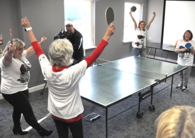 Red Nose Day - Midland Comms sponsored Ping Pong photo
