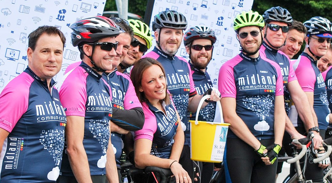 Midland Comms Supports St Richard's Bikeathon Again