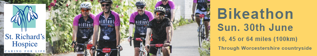 St Richard's Hospice Bikeathon – Jun 30th