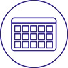 Lesson scheduling icon