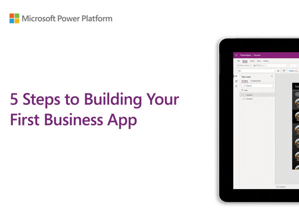Download 5 steps to building your first app in Teams