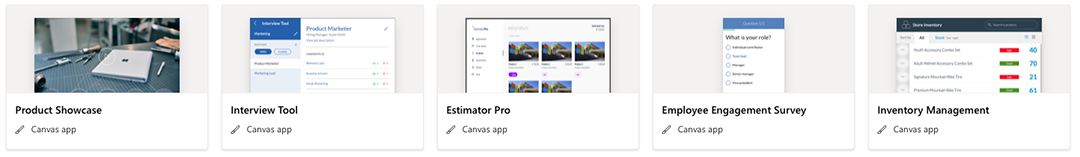 Team Apps Template Example 5